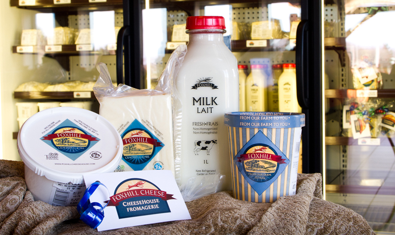 Fox Hill Cheese House gift baskets are sure to delight!