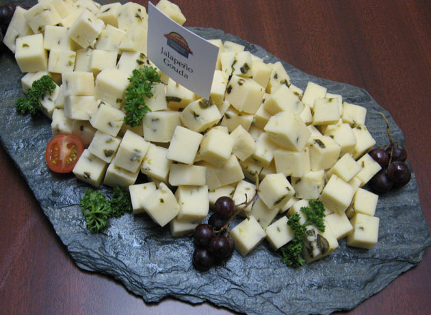 Healthy Fox Hill Cheese House cheese tray
